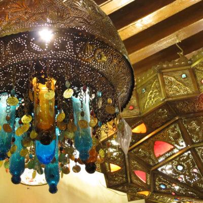 カイロの伝統スタイルランプ
