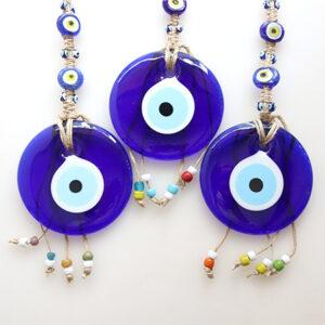 ガラスでできた青い目のお守り、ナザルボンジュウ