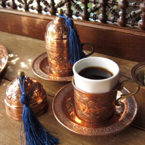 トルココーヒー用のコーヒーカップ