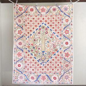ウズベキスタンのスザンニ刺繍