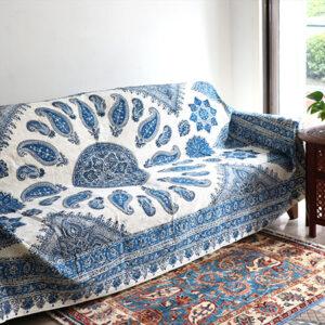 イラン、イスファハンで作られたペルシャ更紗